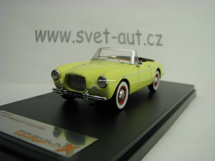 Volvo P19000 Sport Convertible 1955 Light Yellow 1:43 Premium X